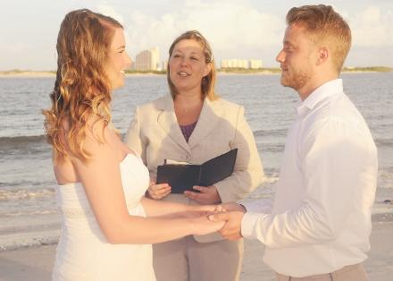 Emily & Chris ~ Ponce Inlet ♥ Jillian Shaw ~ Wedding Officiant ♥ Ceremonies by the Sea ~ New Smyrna Beach, FL